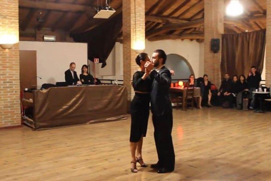 Vals di Maria Filali e Gianpiero Galdi alla Casona del Tango Ferrara
