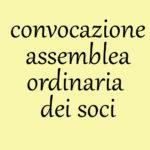 Convocazione Assemblea Ordinaria dei Soci dell'ASD Sogni di Tango