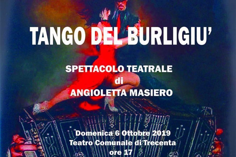 """Spettacolo teatrale """"TANGO DEL BURLIGIU'"""""""