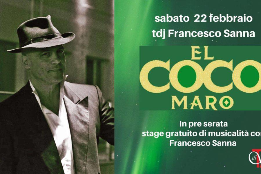 serata di milonga con stage gratuito del maestro e tdj Francesco Sanna!!!