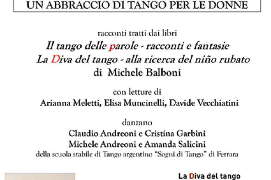 """domenica 27 novembre – Lagosanto – """"Un abbraccio di tango per le donne"""""""