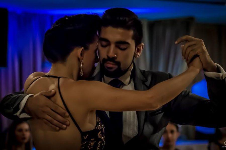 Spettacolo di Jimena Hoeffner y Fernando Carrasco, ex campioni del mondo di tango Metropolitano a Buenos Aires – Villa Regina – maggio 2017