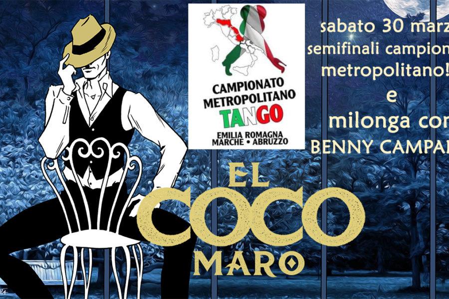 Semifinale del campionato metropolitano di Tango e gran serata di milonga