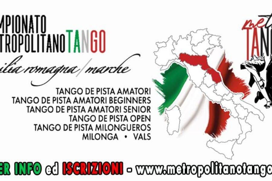 A Sogni di Tango le semifinali e finali del CAMPIONATO METROPOLITANO DI TANGO Emilia Romagna e Marche!